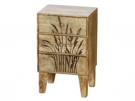 Dulapior/noptiera GRASER, lemn, 30x24x48 cm0
