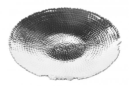 Farfurie MEIGO, placata cu nichel, 3.5x30 cm0