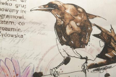 Fata de perna BIRD -A- (cm) 40X40 1