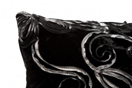 Fata de perna FLOWY NERO (cm) 40X40 1