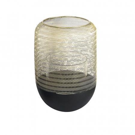 Felinar ORLANDO, metal/sticla, 26x18 cm
