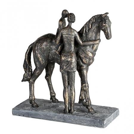 Figurina CONFIDENCE, rasina, 25X24X9 cm0