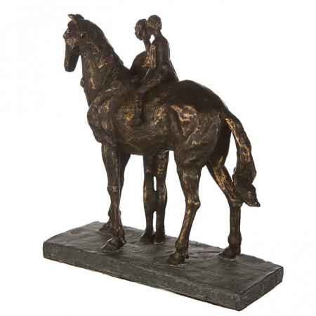Figurina CONFIDENCE, rasina, 25X24X9 cm4