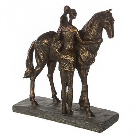 Figurina CONFIDENCE, rasina, 25X24X9 cm2
