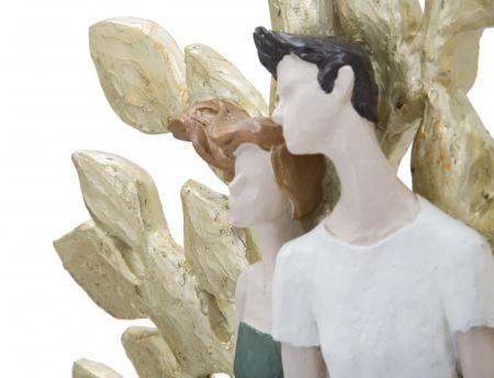 Figurina  COUPLE LIFE TREE (cm) 35X13X526