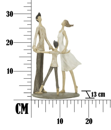 Figurina COUPLE MORE CIRCLE (cm)  18X13X317