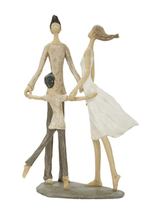 Figurina COUPLE MORE CIRCLE (cm)  18X13X311