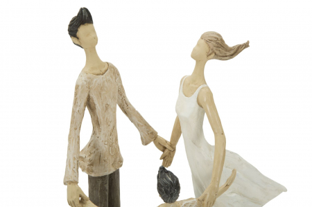 Figurina COUPLE MORE CIRCLE (cm)  18X13X314