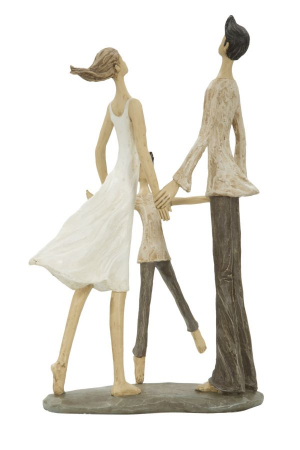 Figurina COUPLE MORE CIRCLE (cm)  18X13X316