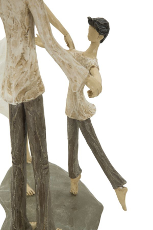 Figurina COUPLE MORE CIRCLE (cm)  18X13X313