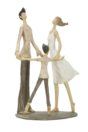 Figurina COUPLE MORE CIRCLE (cm)  18X13X310