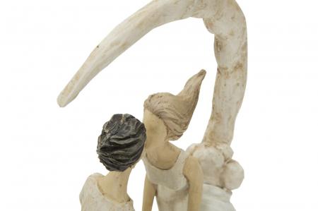 Figurina COUPLE MORE ON THE MOON (cm) 20X10X33,55