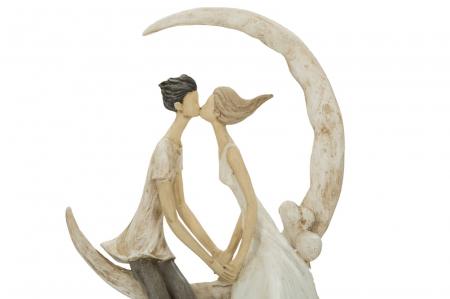 Figurina COUPLE MORE ON THE MOON (cm) 20X10X33,53