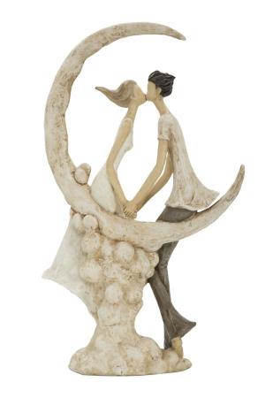 Figurina COUPLE MORE ON THE MOON (cm) 20X10X33,56