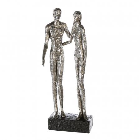 Figurina COUPLE, rasina, 41x14x12 cm0