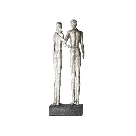 Figurina COUPLE, rasina, 41x14x12 cm3