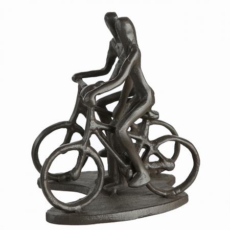 Figurina CYCLING, metal, 13x13X10 cm1