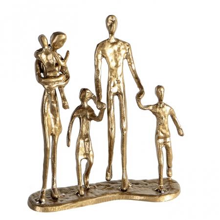 Figurina FAMILY, metal, 19X16X4 cm0
