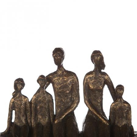 Figurina FAMILY, rasina, 26X26X9 cm1