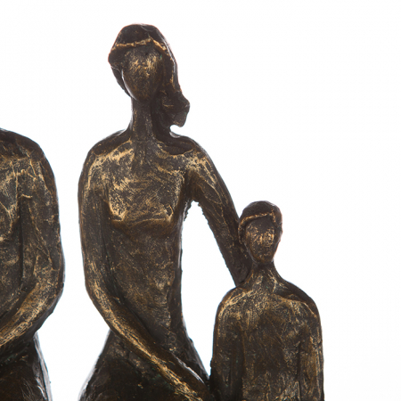 Figurina FAMILY, rasina, 26X26X9 cm2