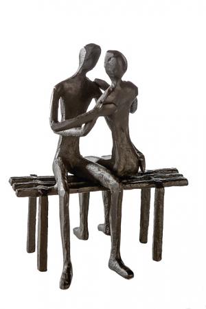Figurina FAVOURITE PLACE, metal, 13x11X10 cm0