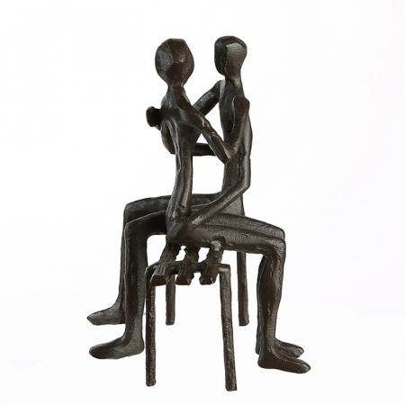 Figurina FAVOURITE PLACE, metal, 13x11X10 cm5