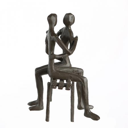 Figurina FAVOURITE PLACE, metal, 13x11X10 cm4