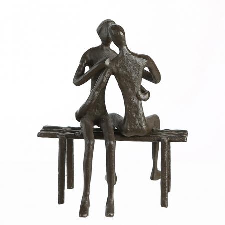 Figurina FAVOURITE PLACE, metal, 13x11X10 cm3