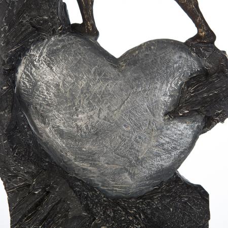 Figurina HEART, rasina, 37X19X9 cm4