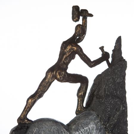 Figurina HEART, rasina, 37X19X9 cm2
