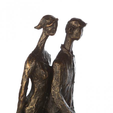 Figurina IN THE CITY, rasina, 42X29X8 cm3