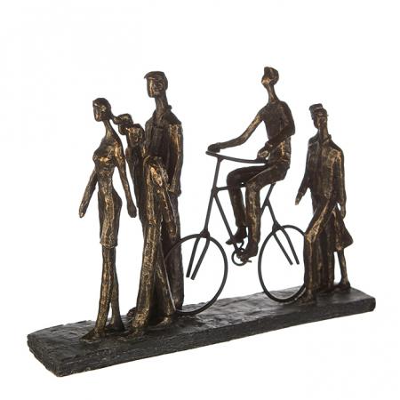 Figurina IN THE CITY, rasina, 42X29X8 cm1