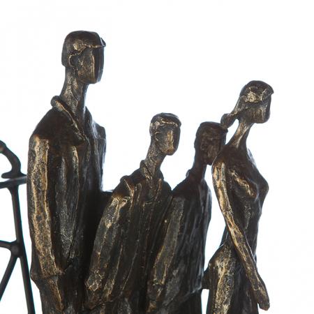 Figurina IN THE CITY, rasina, 42X29X8 cm4