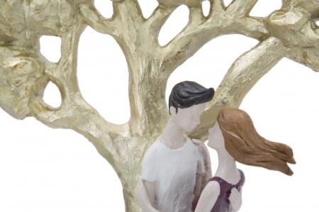 Figurina KISS COPPIA LIFE TREE (cm) 31X13X453