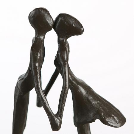 Figurina LOVE, metal, 15x11X6 cm5