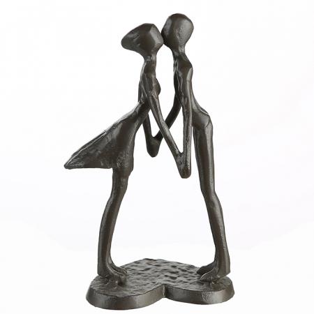 Figurina LOVE, metal, 15x11X6 cm4