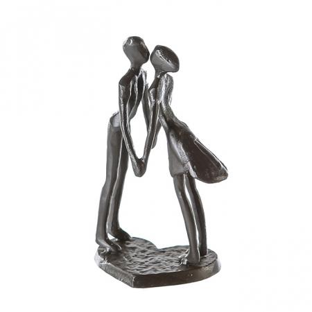 Figurina LOVE, metal, 15x11X6 cm0