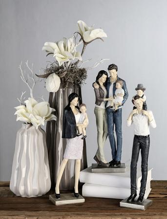 Figurina MOTHER AND DAUGHTER, rasina, 36x11x8 cm1