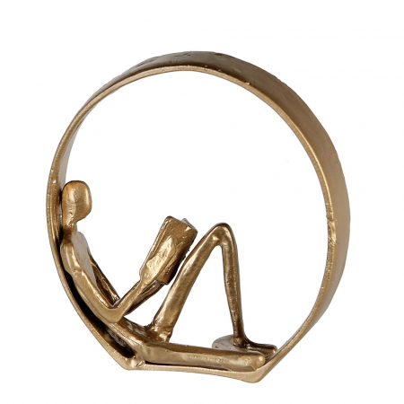 Figurina NOVEL, metal, 19X17X9 cm0