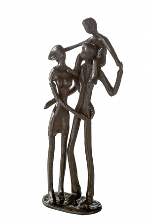 Figurina PARENTS, metal, 19x8X5 cm0