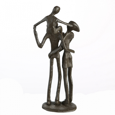 Figurina PARENTS, metal, 19x8X5 cm5
