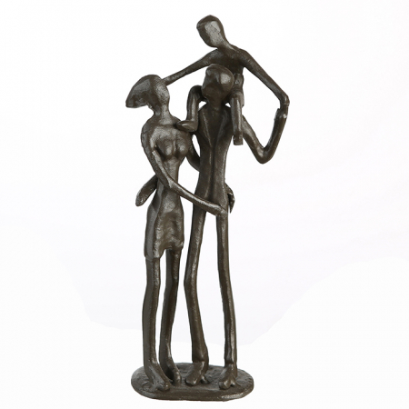 Figurina PARENTS, metal, 19x8X5 cm1
