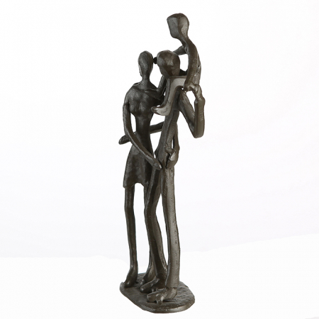 Figurina PARENTS, metal, 19x8X5 cm3