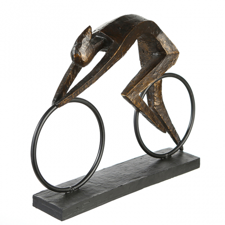 Figurina RACER, rasina, 36X28.5X18 cm3