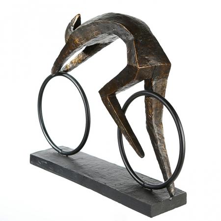 Figurina RACER, rasina, 36X28.5X18 cm4