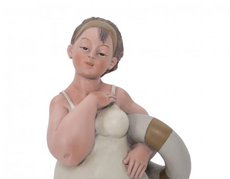 Figurina, rasina, Multicolor, 12.9X10.9X16.2 cm1