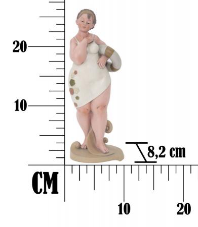 Figurina, rasina, Multicolor, 12.9X10.9X16.2 cm7