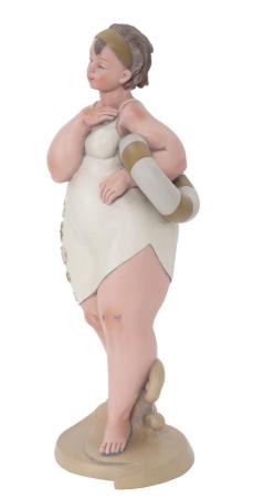 Figurina, rasina, Multicolor, 12.9X10.9X16.2 cm2