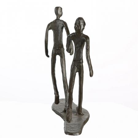Figurina RUNNING, metal, 18x17X7 cm5