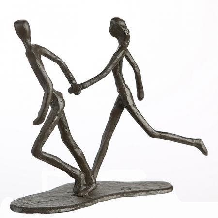 Figurina RUNNING, metal, 18x17X7 cm3